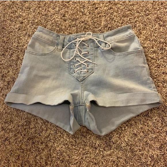 PacSun Pants - pacsun lace up shorts